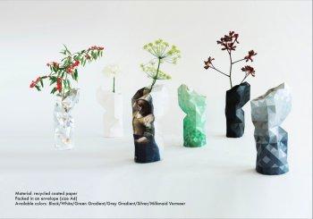 Paper Vase Cover diverse dessins 1065..