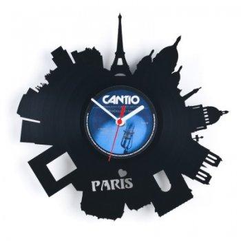 Re_vinyl Muurklok Parijs 1377
