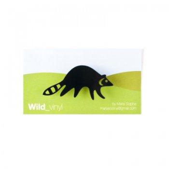 Wild_vinyl Racoon 1399