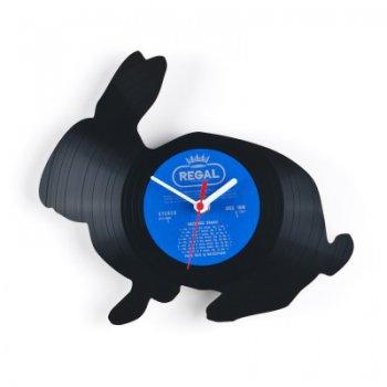 Re_vinyl Muurklok Rabbit 1374