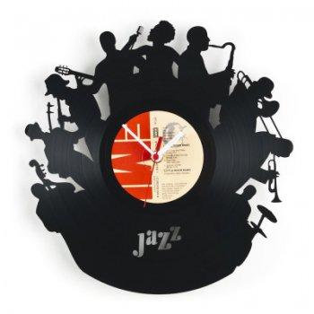 Re_vinyl Muurklok Jazz 1378