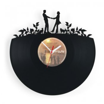 Re_vinyl Muurklok Love 1380