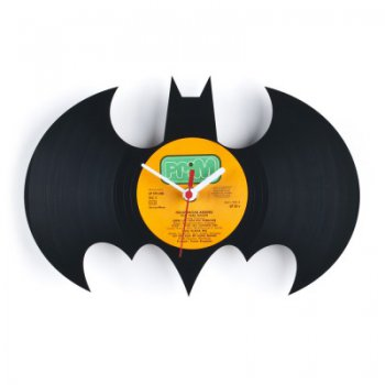 Re_vinyl Muurklok Batman 1383