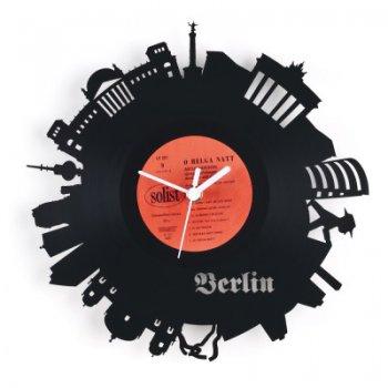 Re_vinyl Muurklok Berlijn 1386
