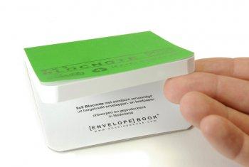 EnvelopeBook Groen 9x9 Office blocnote 9982