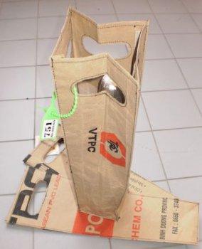 Wijnzak Cement of PVC grondstof 868