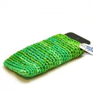 Chenda smartphonehoes groen 7614