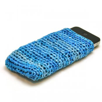 Chenda smartphonehoes blauw 7615